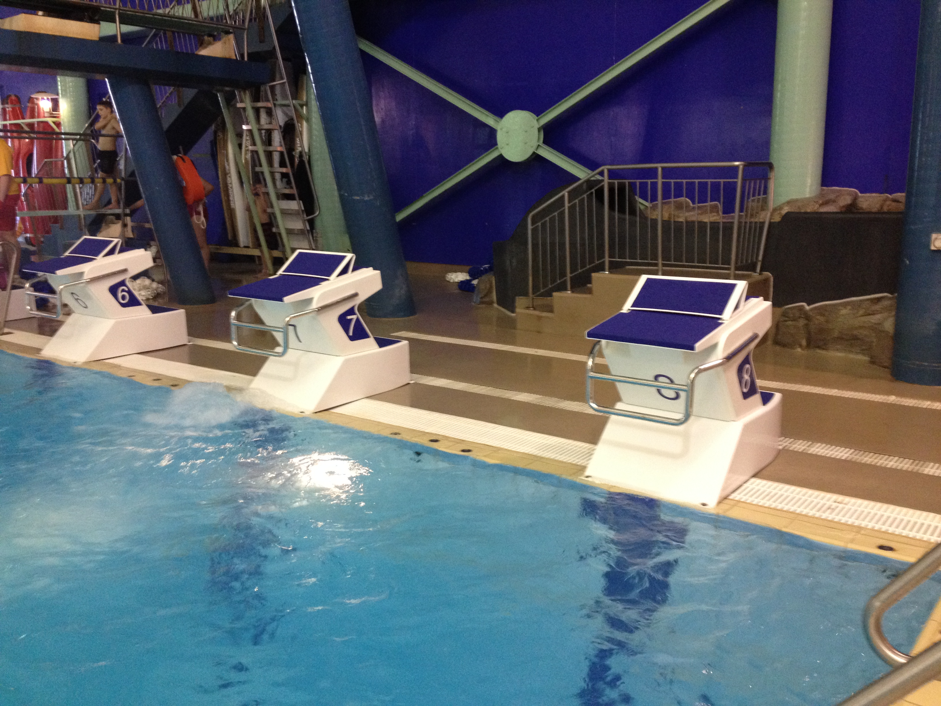 Swimming southland home - Olympic swimming starting blocks ...